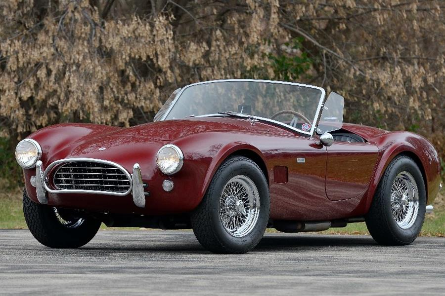 Last 289 Cobra sold to the public to cross the block at Mecum Kissimmee Auction